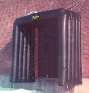 Inflatable Rail Seal Inflatable Rail Car Dock Door Seals