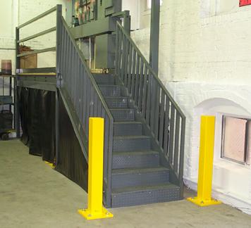 Heavy Duty Safety Bollards, Bollard, Guard Rails, Guardrail
