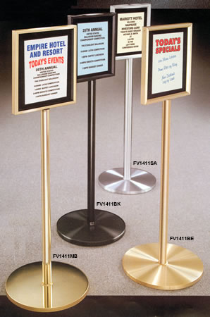 Image result for free standing sign holder