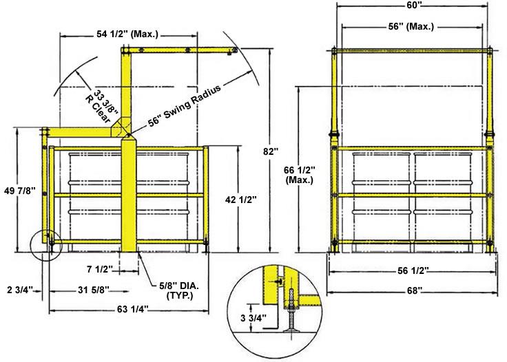 Mezzanine Safety Gate Benko Safety Gates