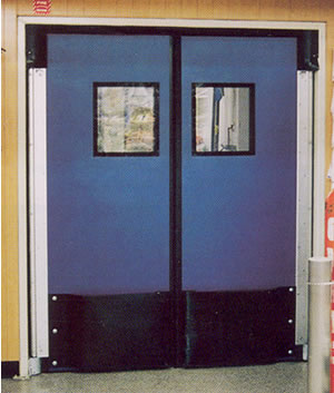 Poly Kor Impact Doors Impact Traffic Door Rubbair Doors