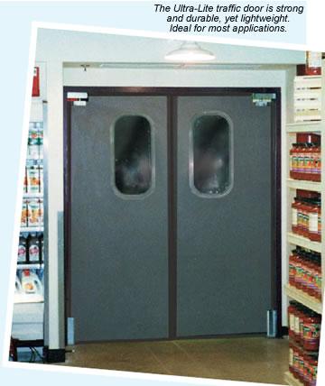 traffic doors & Ultra-Lite Impact Doors Impact Traffic Door Rubbair Doors